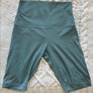 "Lululemon Align 10"" Biker Shorts (Teal)"
